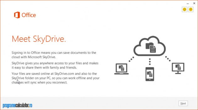 Microsoft Office 2013 » SkyDrive