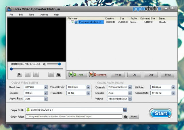 uRex Video Converter Platinum Gratis!