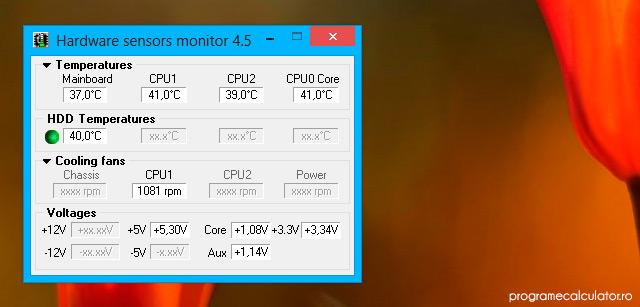 Programe de monitorizare a calculatorului