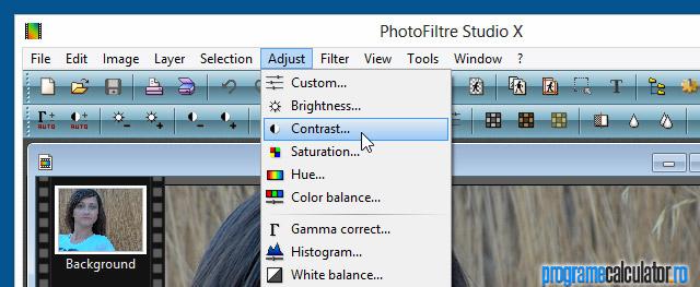 """Efectul """"piele de păpușă"""" cu PhotoFiltre"""