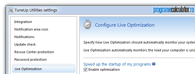 TuneUp Live Optimization 2.0