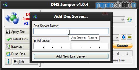 Adăugare DNS