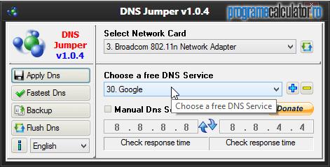 Alegere DNS