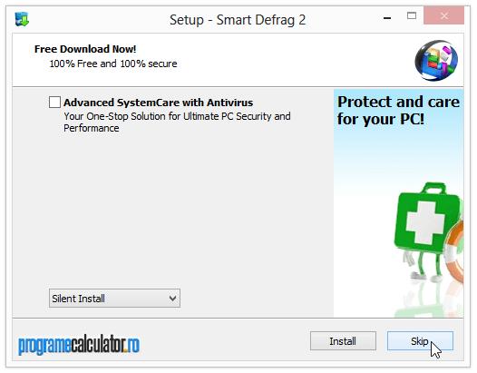 Instalare Smart Defrag