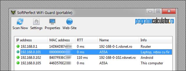 Program cu care poți afla dacă cineva s-a conectat la rețeaua WiFi - Wireless