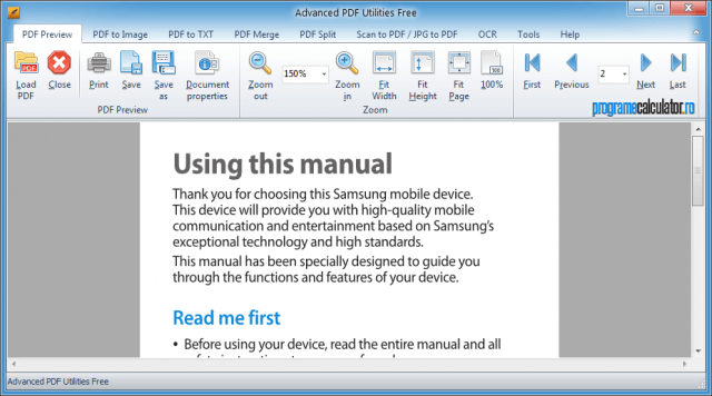 Advanced PDF Utilities Free