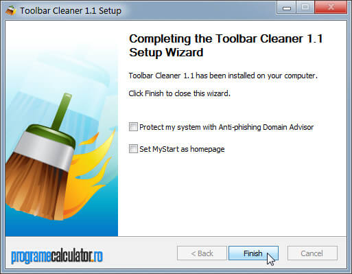 Toolbar Cleaner