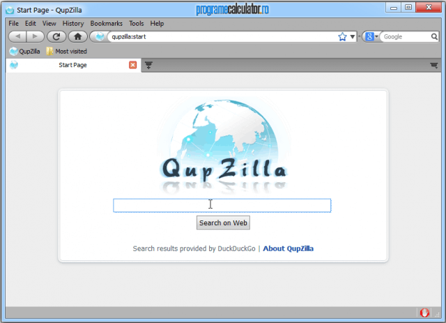Qupzilla Internet Browser
