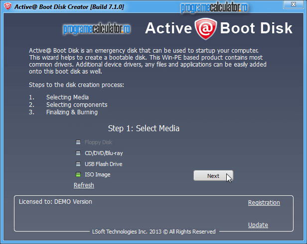 Active Boot Disk-creator