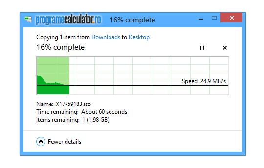 Copiere fișiere Windows