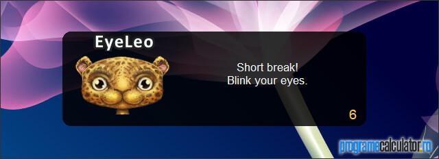 EyeLeo: Ia o pauza!