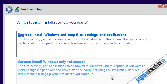 Install Windows Only