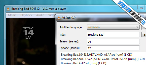 Descarca automat subtitrarile in VLC Media Player