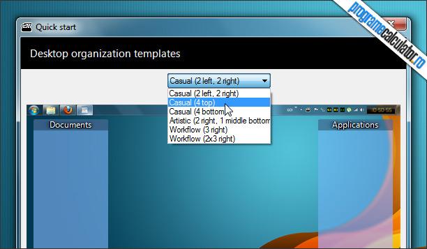 Organizare desktop cu Nimi Places