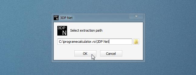 extragere 3DP Net