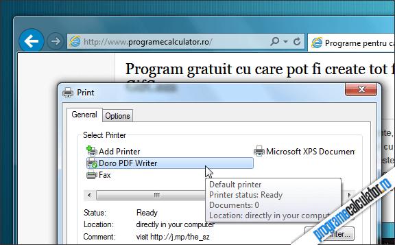 imprimanta virtuala PDF