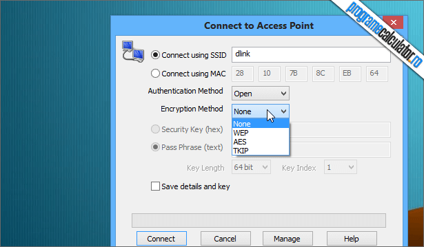Conectare la Access Point