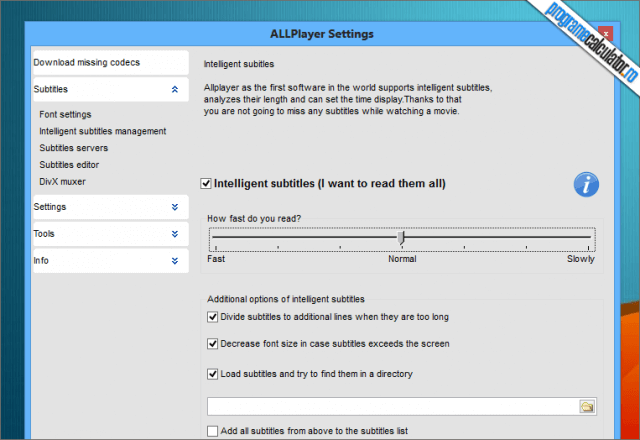 ALLPlayer IQ Text