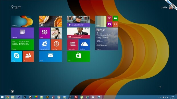 Activare Taskbar Bara de Activitati in Windows 8