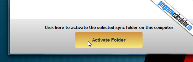 activare folder cloudme