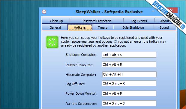 personalizare oprirea automata calculator