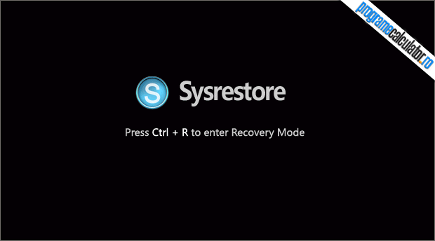 restaurare windows cu SysRestore Free