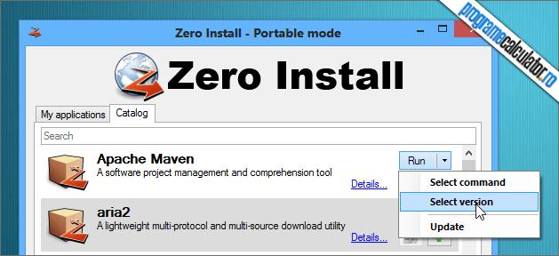 ruleaza programe fara sa le instalezi, cu Zero Install