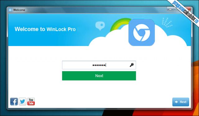 WinLockPro - parola