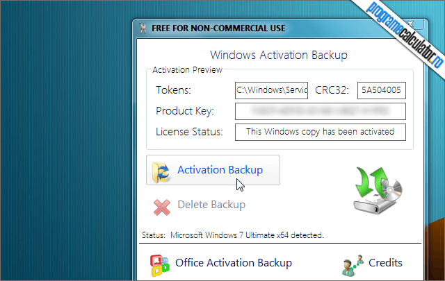 Backup Licenta Windows & Office