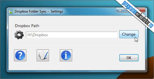 Dropbox Folder Sync