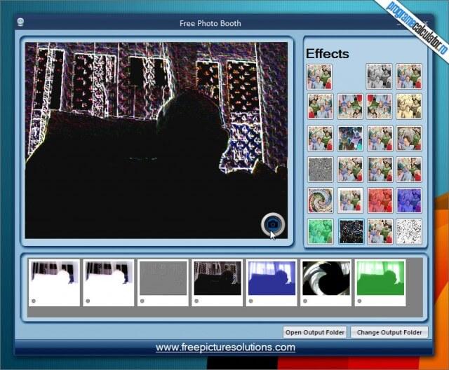 Efecte Webcam