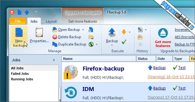 FBackup backup programe