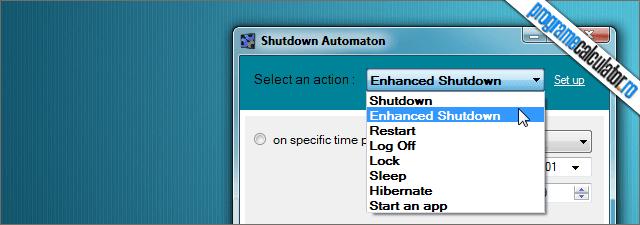 Shutdown Automaton
