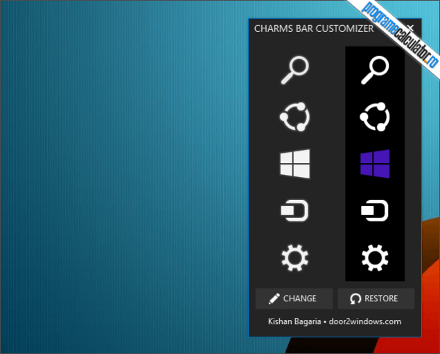 1-Charms Bar Customizer-pictograme-default