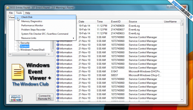 2-Windows Event Viewer Plus-tools