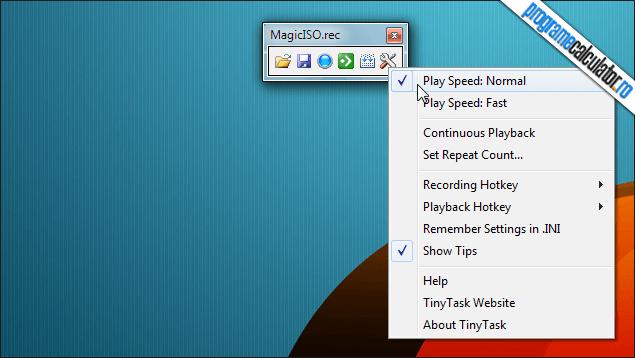 1-TinyTask-optiuni