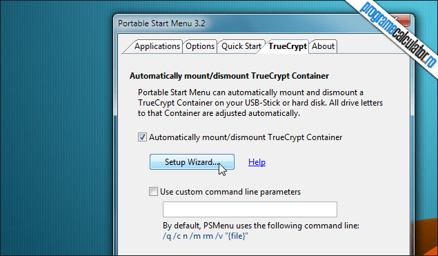 3-Portable Start Menu-TrueCrypt-wizard