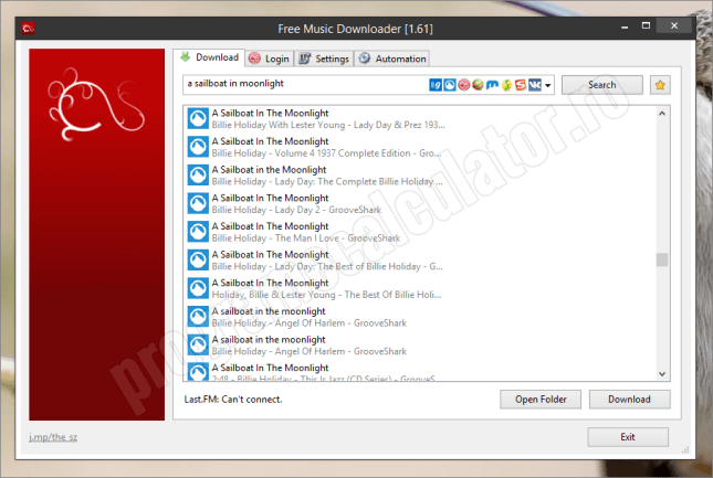 free music downloader - program de descarcat muzica