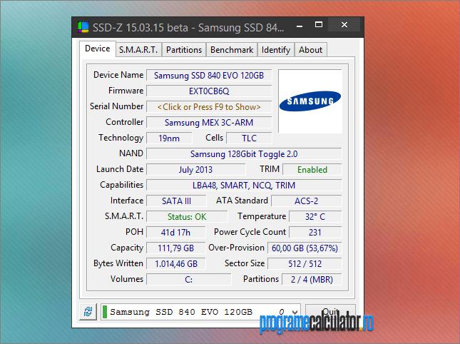 informatii si teste hard disk