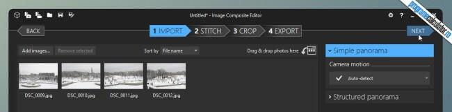 Image Composite Editor » Next
