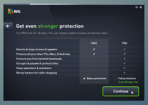 AVG Basic protection
