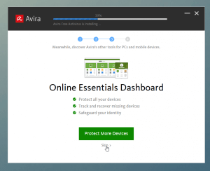 Online Essentials Dashboard