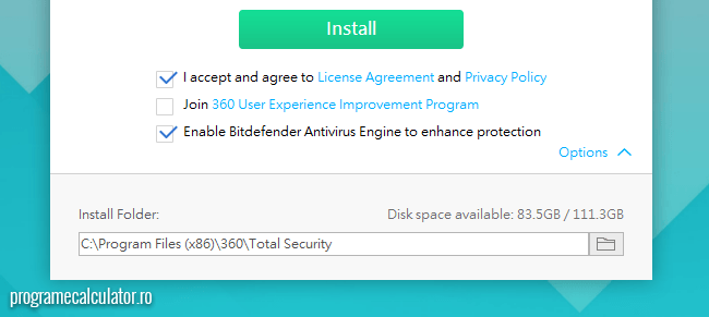 360 Total Security - Instalare