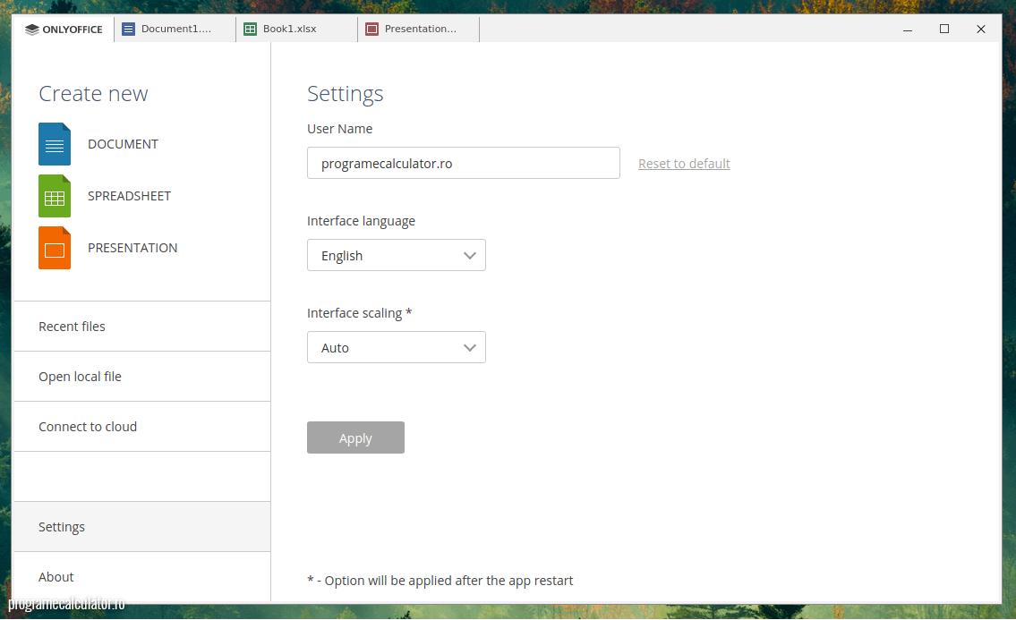 OnlyOffice - alternativă la Microsoft Office