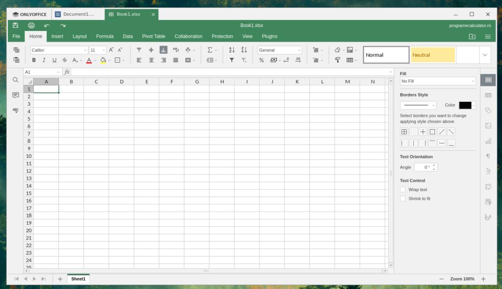 Spreadsheet - OnlyOffice